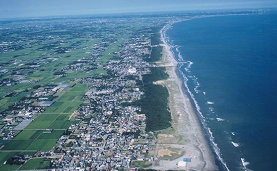 九十九里ビーチライン Kujyukuri beachline